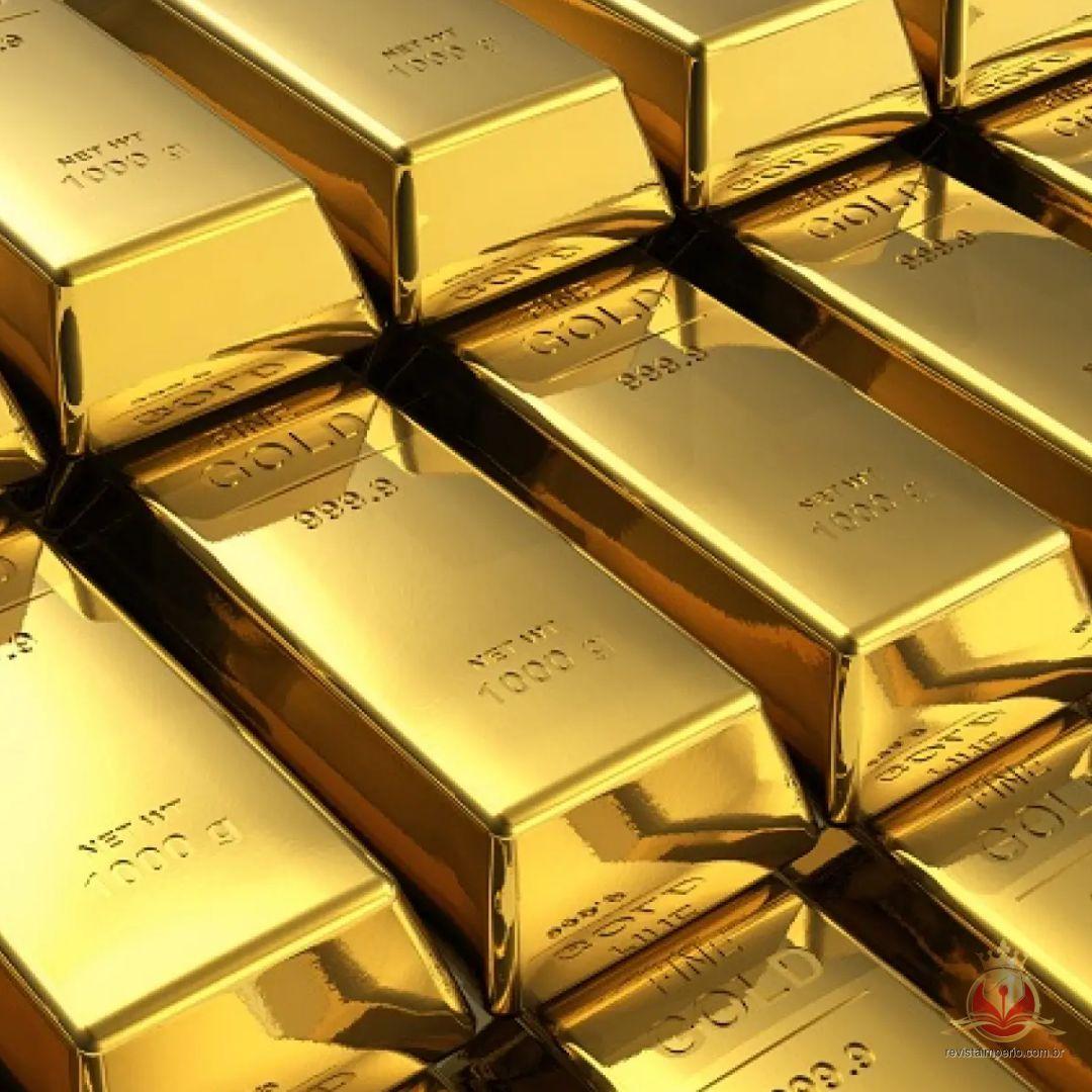 O ouro superou o mercado de ações no último ano