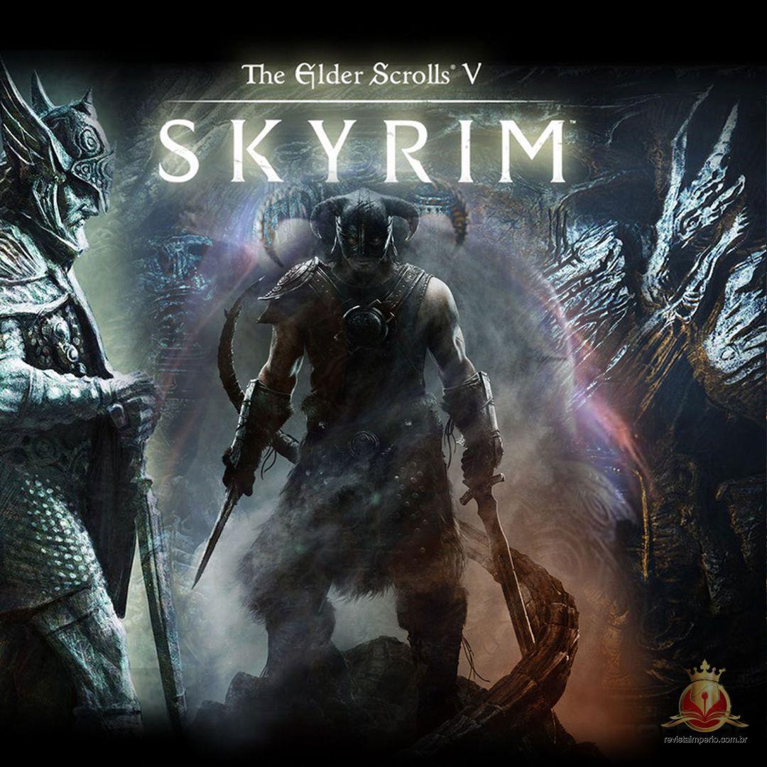 Jogos como Skyrim são viciantes para algumas pessoas