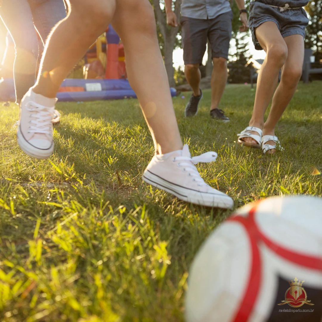 Esportes promovem amizades, organização e trabalho